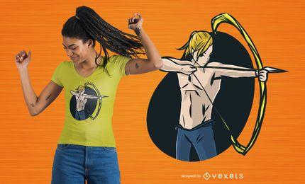 Diseño de camiseta Archer