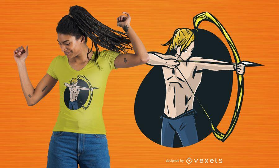 Archer T-shirt Design