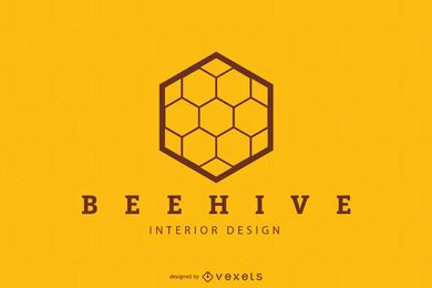 Beehive poster design