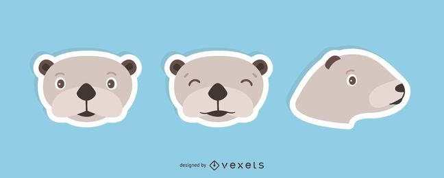 Sea Otter Sticker Set