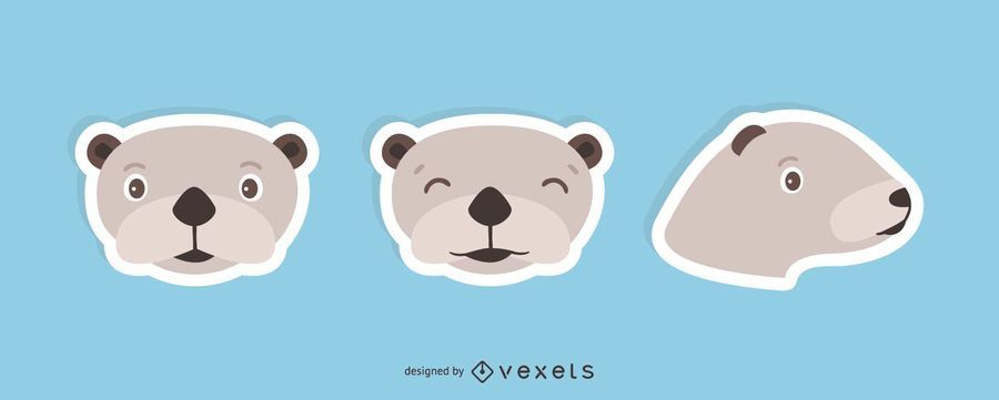 Sea Otter Sticker Set