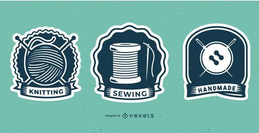 Design De Emblemas De Costura