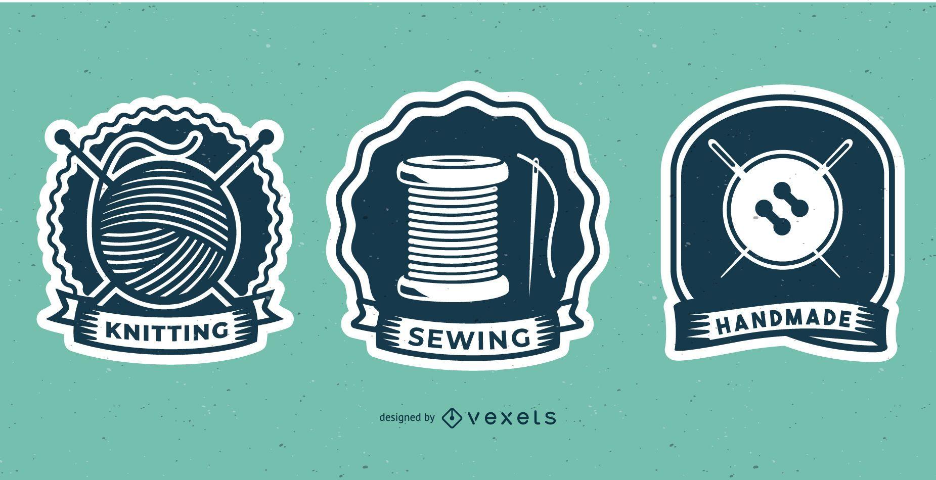 Diseño de insignias de costura