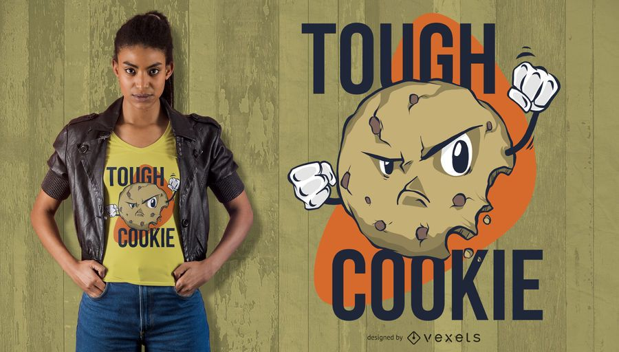Though Cookie T-shirt Design