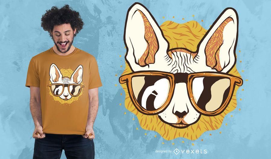 Cool Cat T-shirt Design