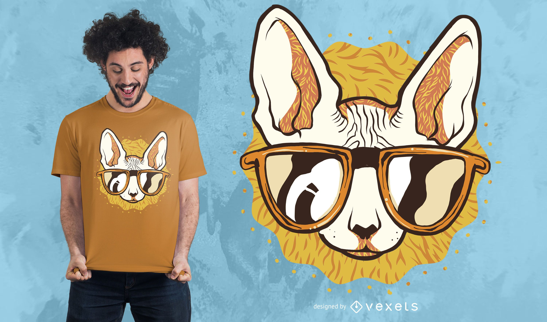 Cool Cat T-shirt Design