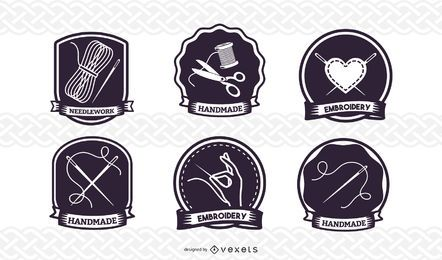 Sewing Badge Set