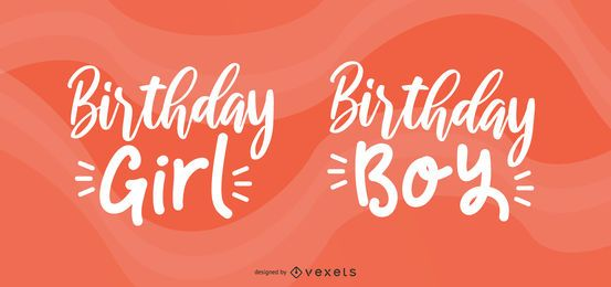Celebrante de cumpleaños saludo conjunto