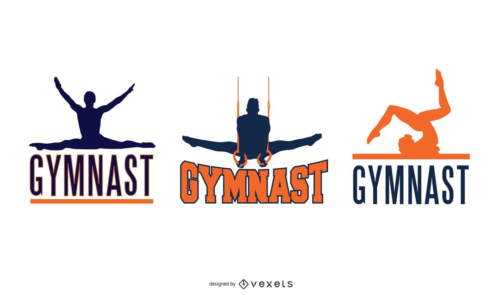 GYMNAST Lettering Set