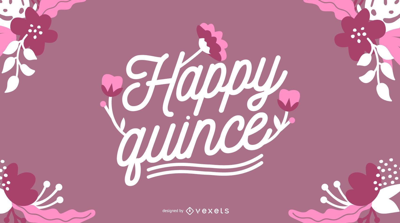 Happy Quince Illustration