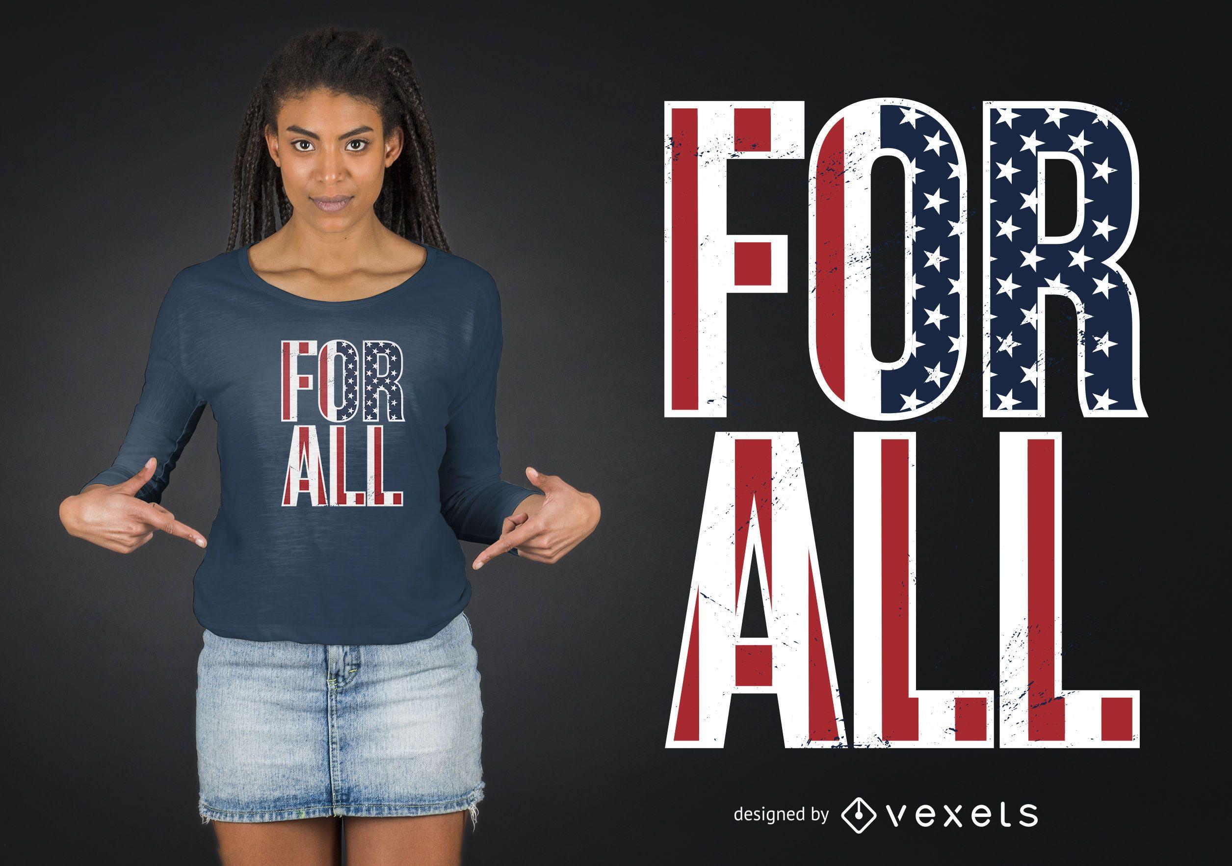 Para todos los diseños de camisetas
