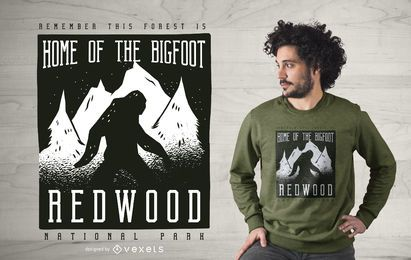 Redwood Park T-shirt Design