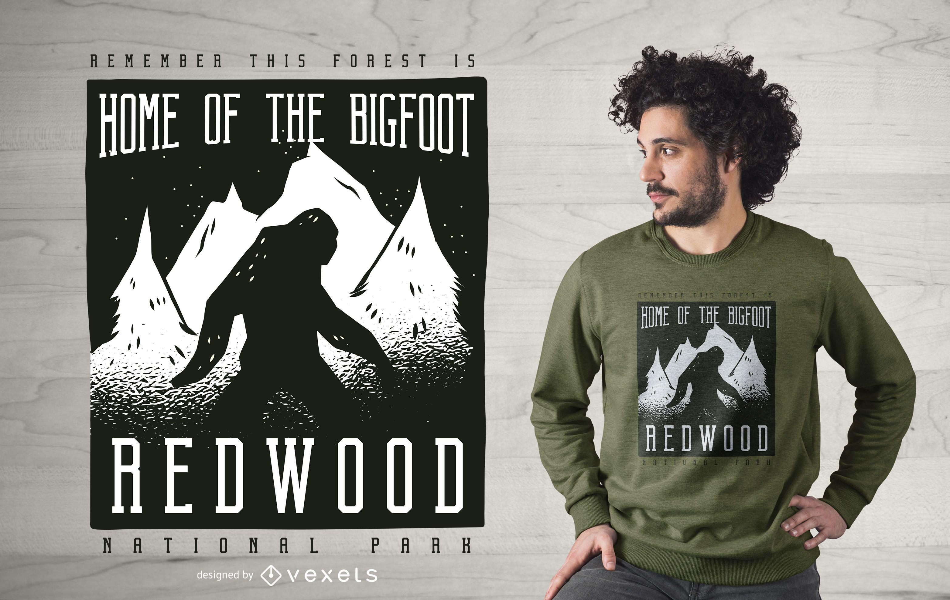 Redwood Park T-shirt Design