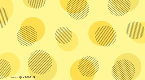 Yellow dots abstract background