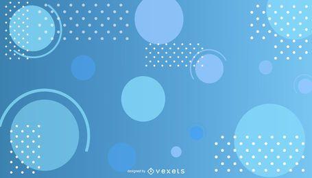 Fundo abstrato azul gradiente