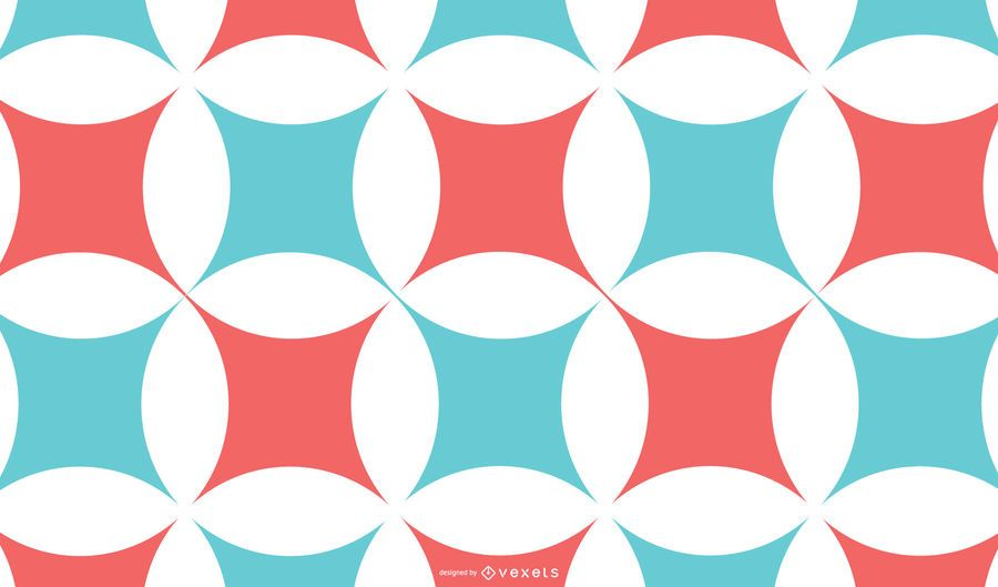 Abstract Red Blue Pattern Background