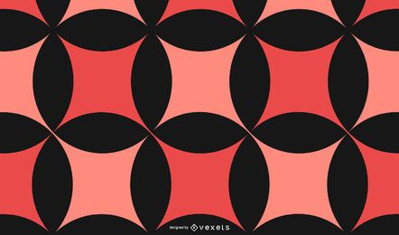Abstrakter roter schwarzer Muster-Hintergrund