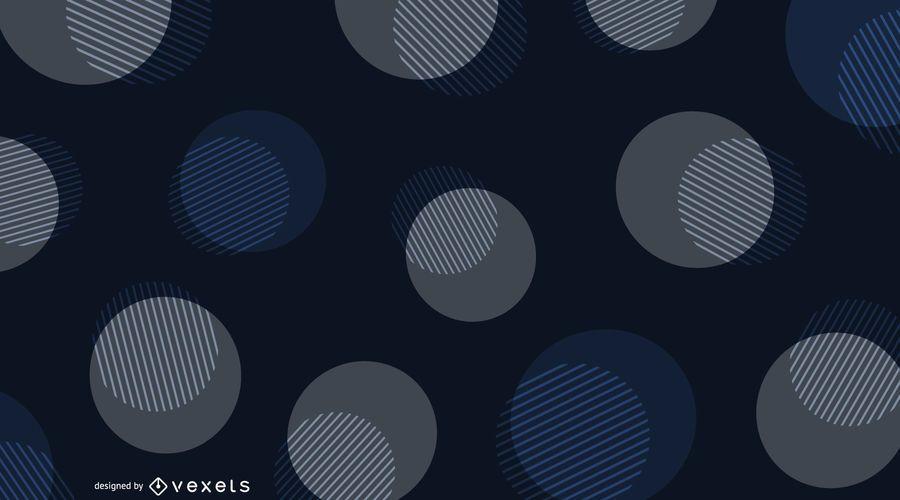 Abstract Design Dark Background