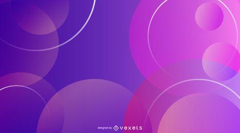 Resumen de fondo degradado púrpura diseño