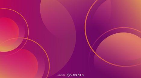 Abstraktes Steigungs-Hintergrund-Design