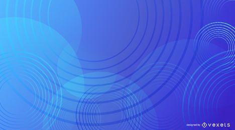 Abstraktes blaues Hintergrund-Design