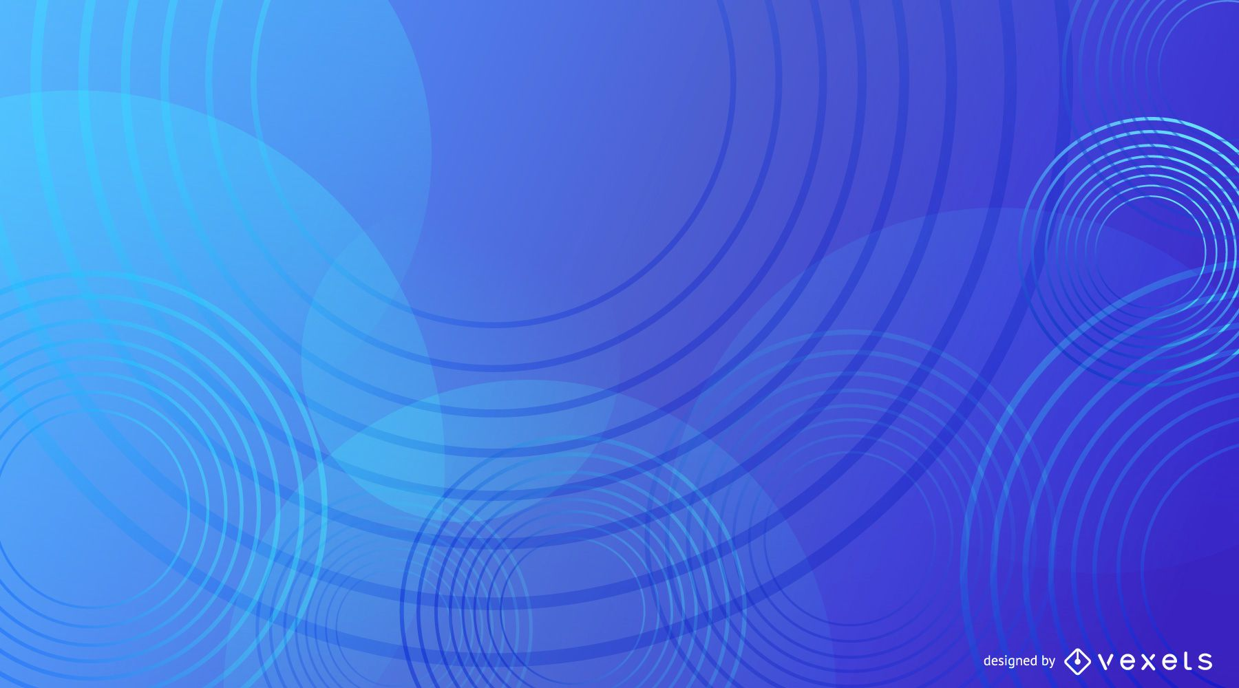 Design de fundo abstrato azul