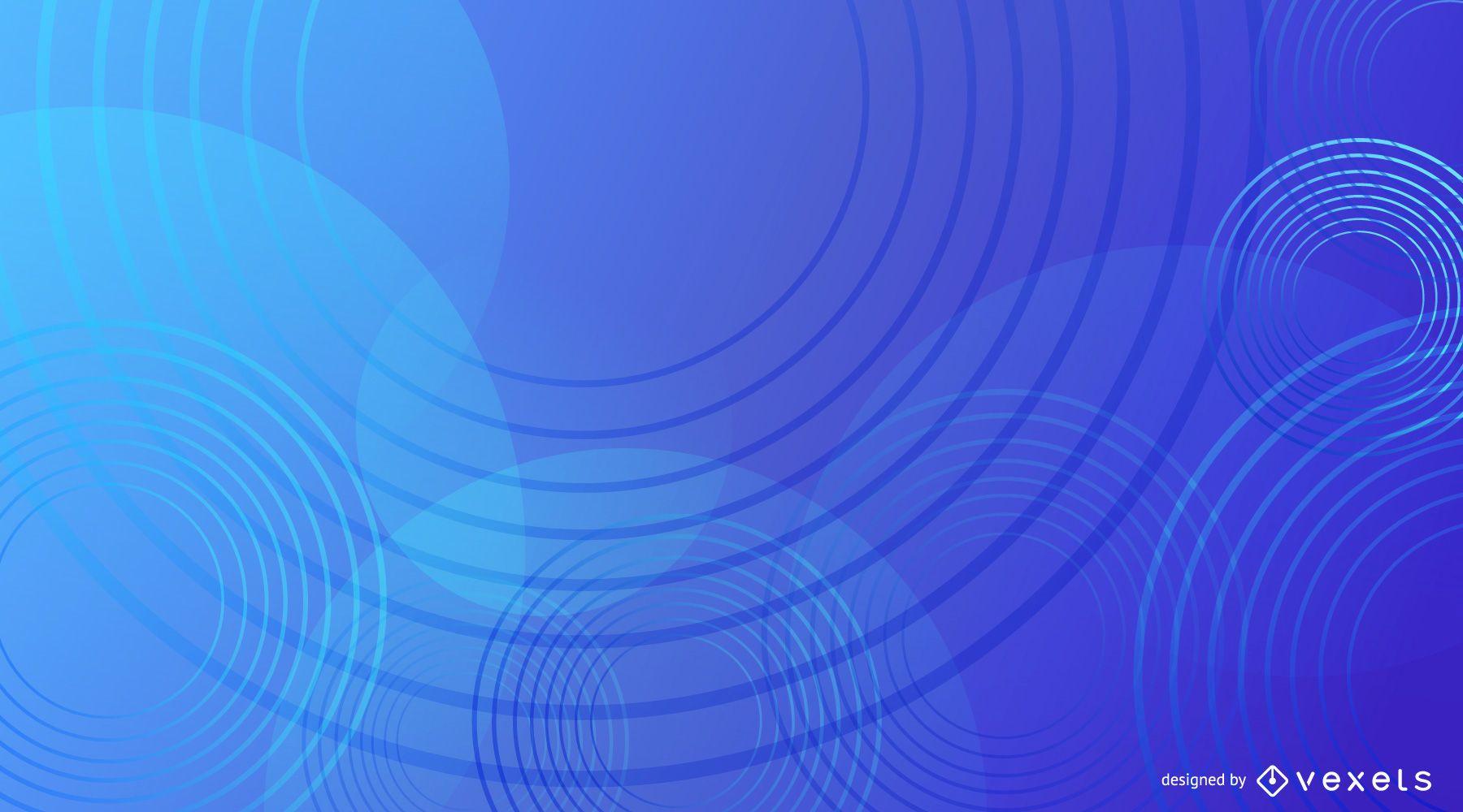 Diseño de fondo azul abstracto