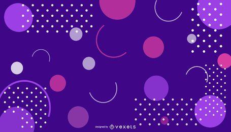 Fondo de diseño abstracto de color