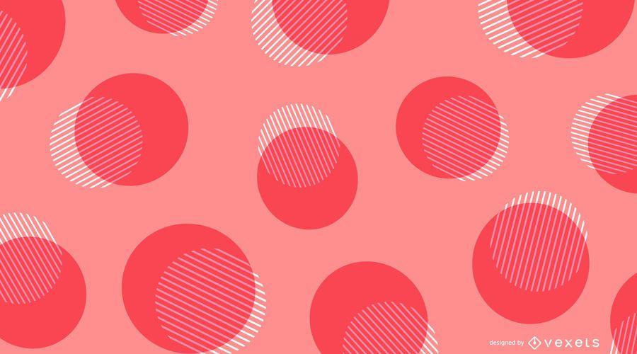 Fondo rosado punteado abstracto