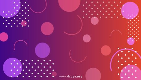Abstract Gradient Colorful Background