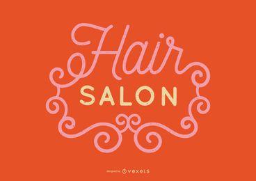 Projeto de rotulação de salão de cabeleireiro