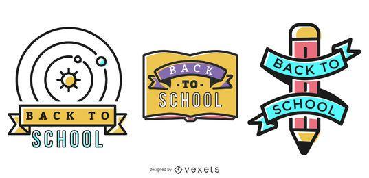 De volta aos emblemas da escola