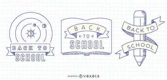 Back to School Vector Graphics