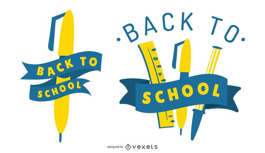 Back To School Graphic Set