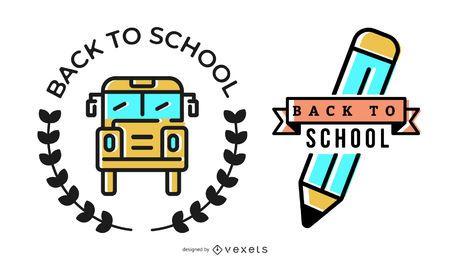 Volver al diseño de la insignia de la escuela