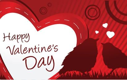 Happy valentines day Vector Graphics to download – Happy Valentines Day Cards