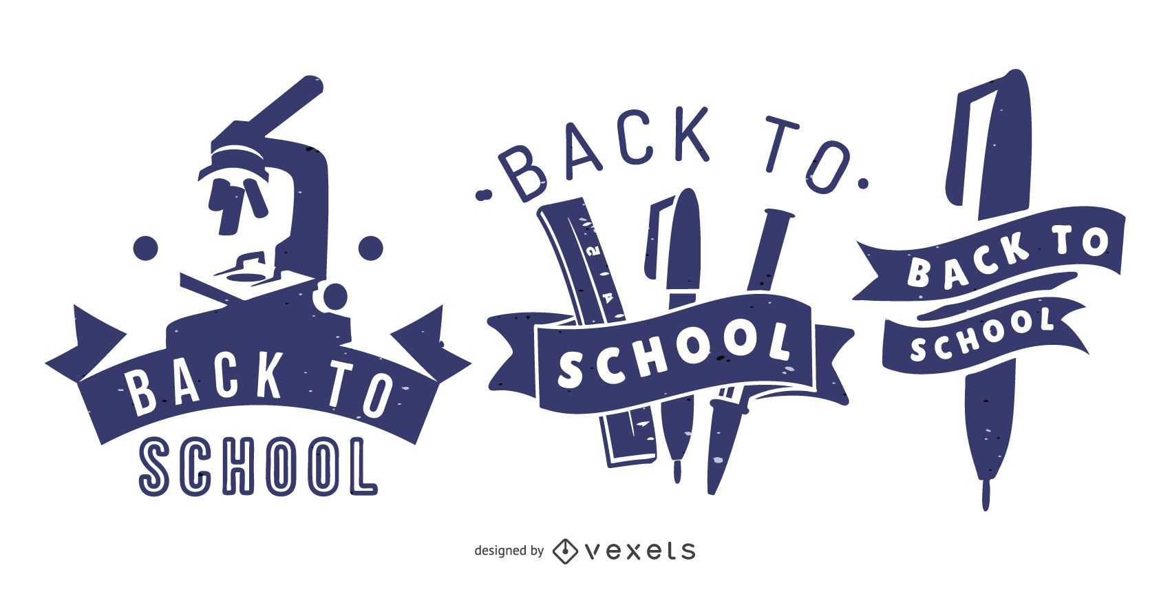 Back To School Graphic Banners