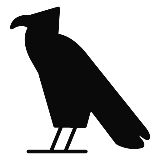 A carrion crow bird eagle silhouette Transparent PNG