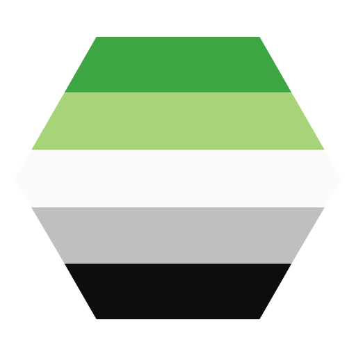 Raya hexagonal de aroma aromático plana Transparent PNG