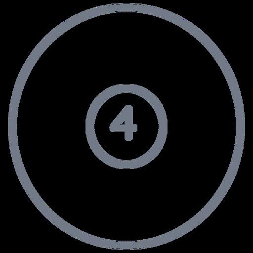 Bola, quatro, círculo, apoplexia Transparent PNG