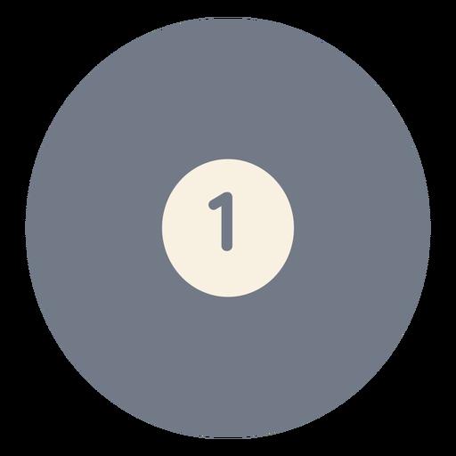 Silhueta de uma bola de círculo Transparent PNG