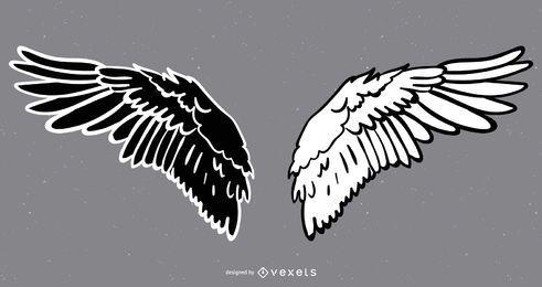 Vector de alas