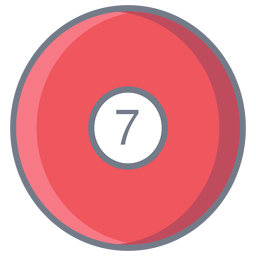 Ball seven circle flat