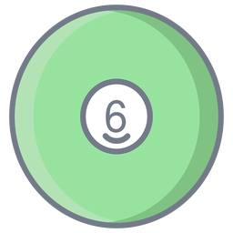 Ball six circle flat