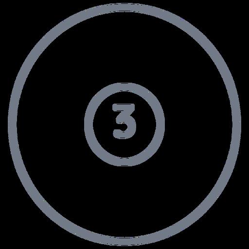 Bola, três, círculo, apoplexia Transparent PNG