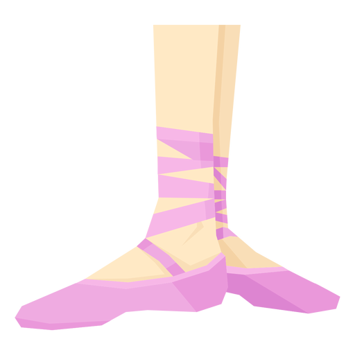 Ballet pointe sapato fita tornozelo pé perna plana Transparent PNG