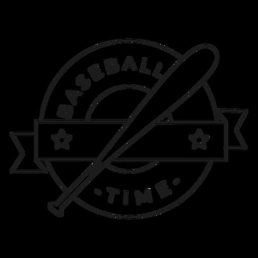 Golpe de tempo do bastão de beisebol Transparent PNG