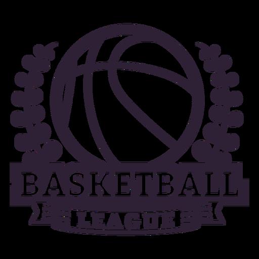 Basketball ligue ball branch badge Transparent PNG