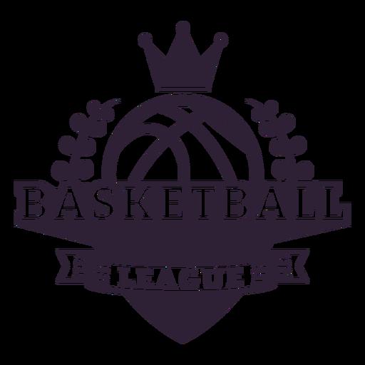 Insignia de pelota de liga de baloncesto Transparent PNG