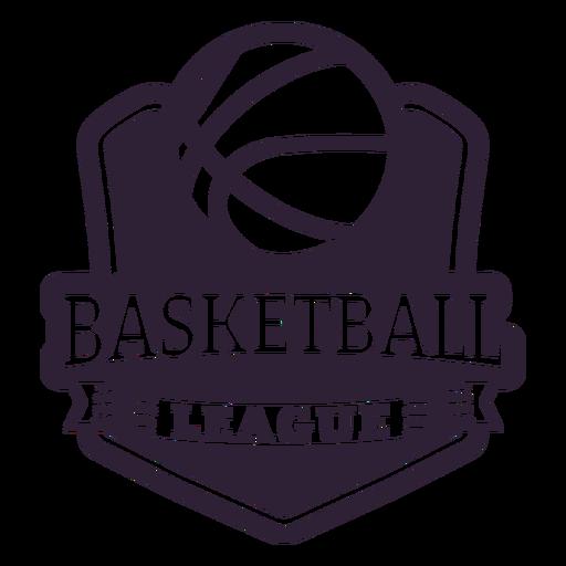 Emblema de jogo de bola ligue basquete Transparent PNG